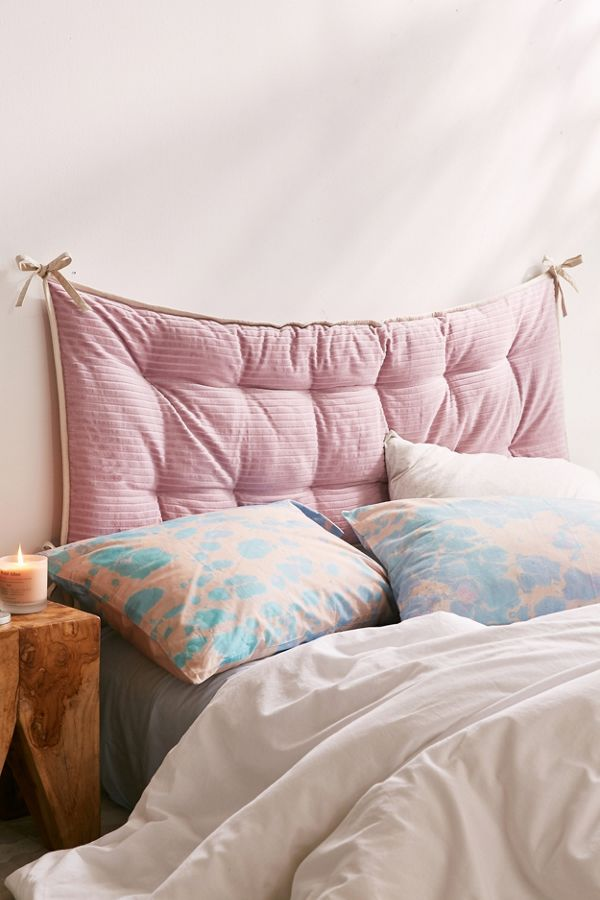 Convertible Corduroy Headboard Pillow Urban Outfitters