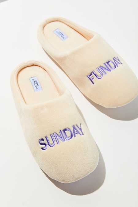 UO Sunday Funday Slipper