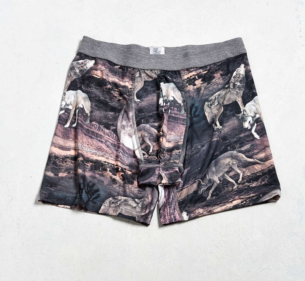 Slide View: 1: Desert Wolf Boxer Brief