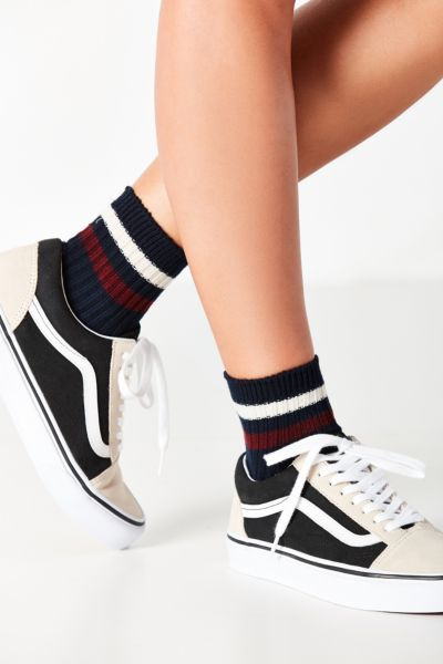 Varsity Striped Crew Sock