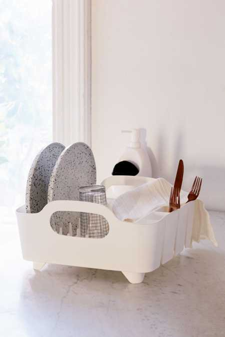 Tub Dish Drying Rack