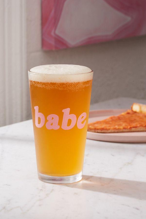 Slide View: 1: Babe Pint Glass