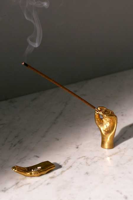 Hands Incense Holder Set