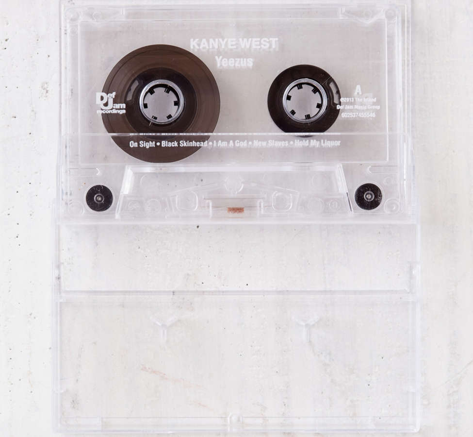 Slide View: 1: Kanye West - Yeezus Exclusive Cassette Tape