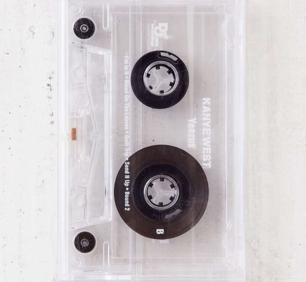 Slide View: 2: Kanye West - Yeezus Exclusive Cassette Tape