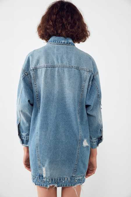 BLANKNYC High Voltage Studded Denim Jacket