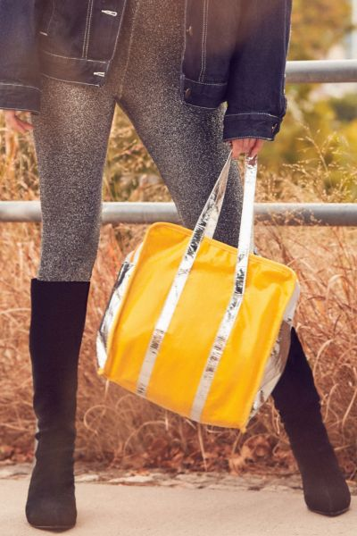 Lightweight Shopper Tote Bag - Yellow One Size at Urban Outfitters