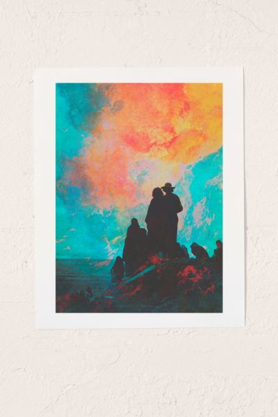 Fran Rodriguez Pioneers Art Print - Multi One Size at Urban Outfitters