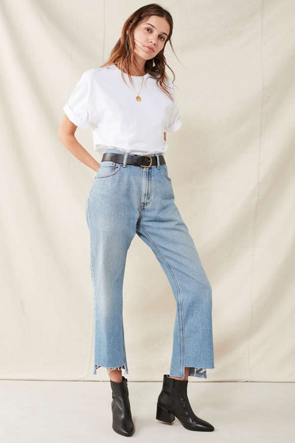 Urban Renewal Recycled Uneven Hem Levi's Jean