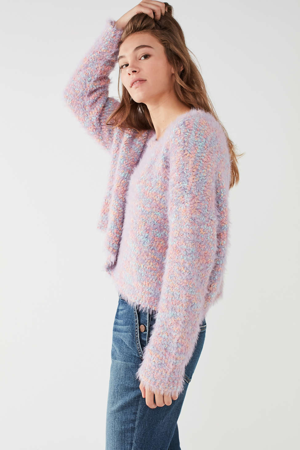 UO Funky Fuzzy Pullover Sweater | Urban Outfitters Canada