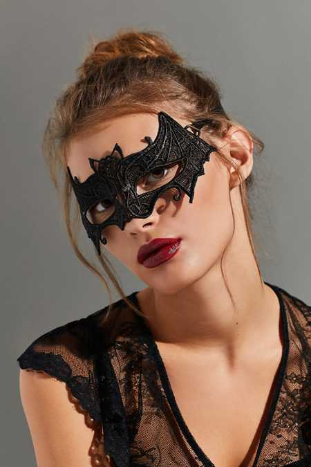 Lace Bat Masquerade Mask