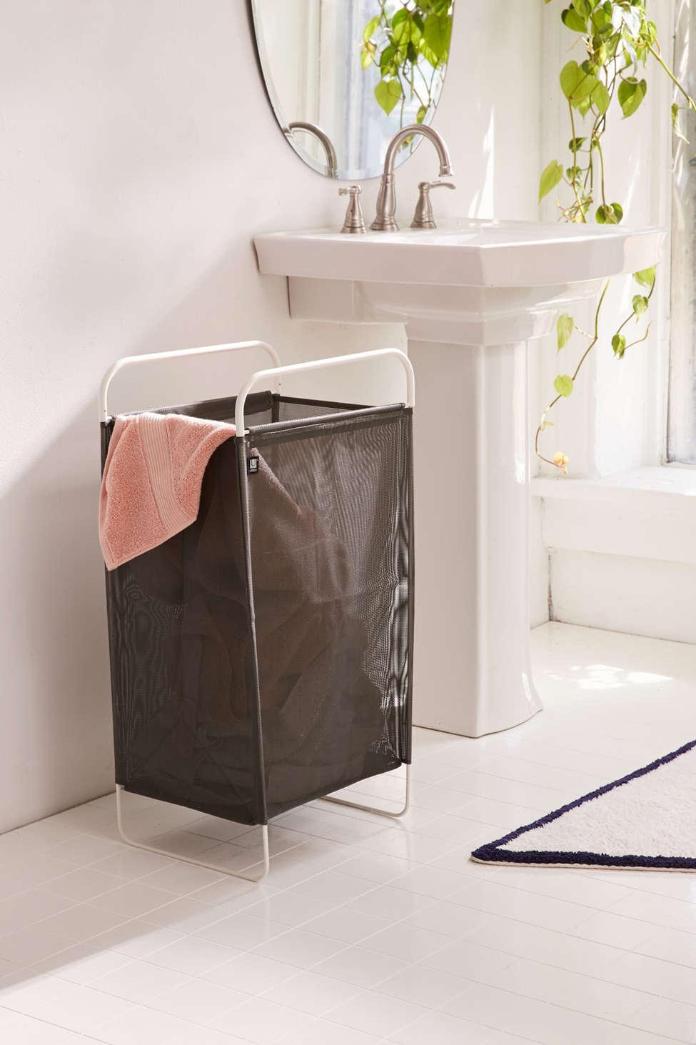 Slide View: 1: Cinch Laundry Hamper
