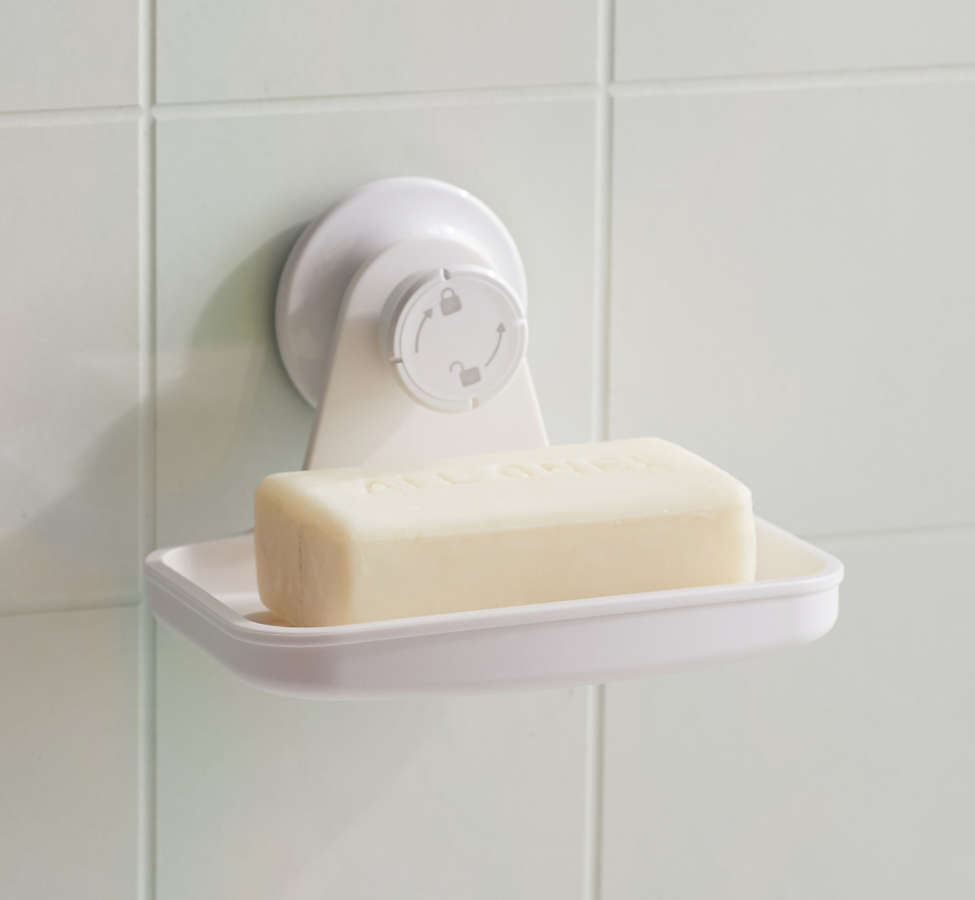Slide View: 1: Flex Gel-Lock Soap Dish
