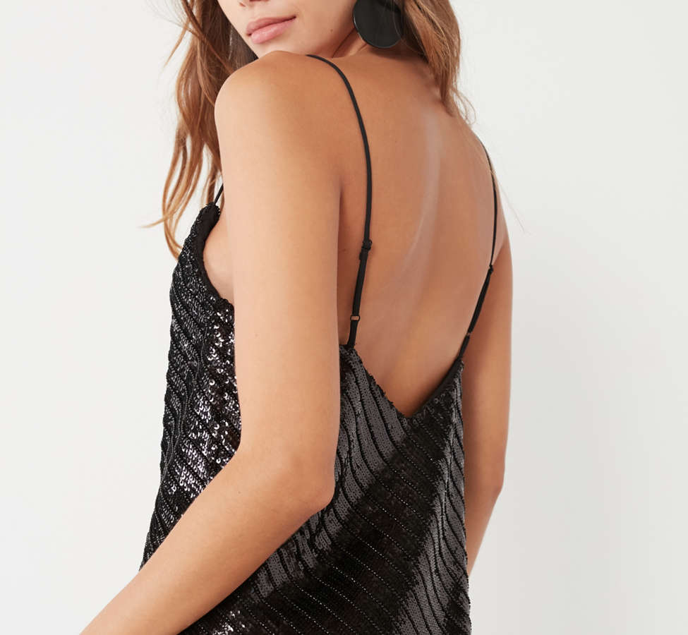 Slide View: 6: Bardot Emmie Sequin Mini Dress