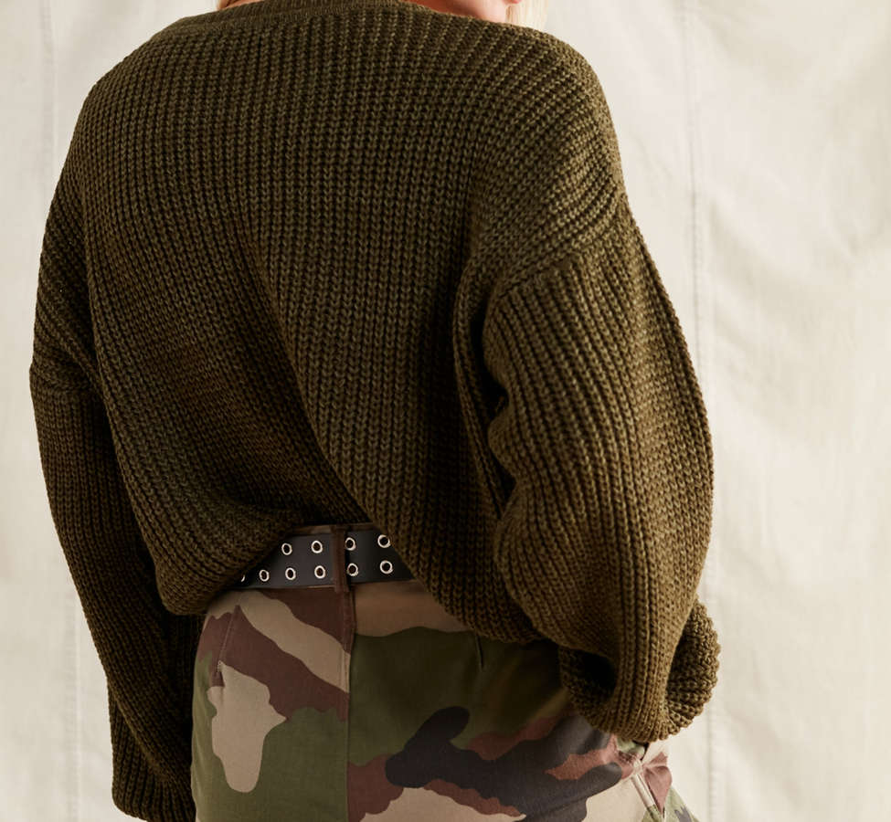 Slide View: 5: Urban Renewal Recycled Vintage Camo Mini Skirt