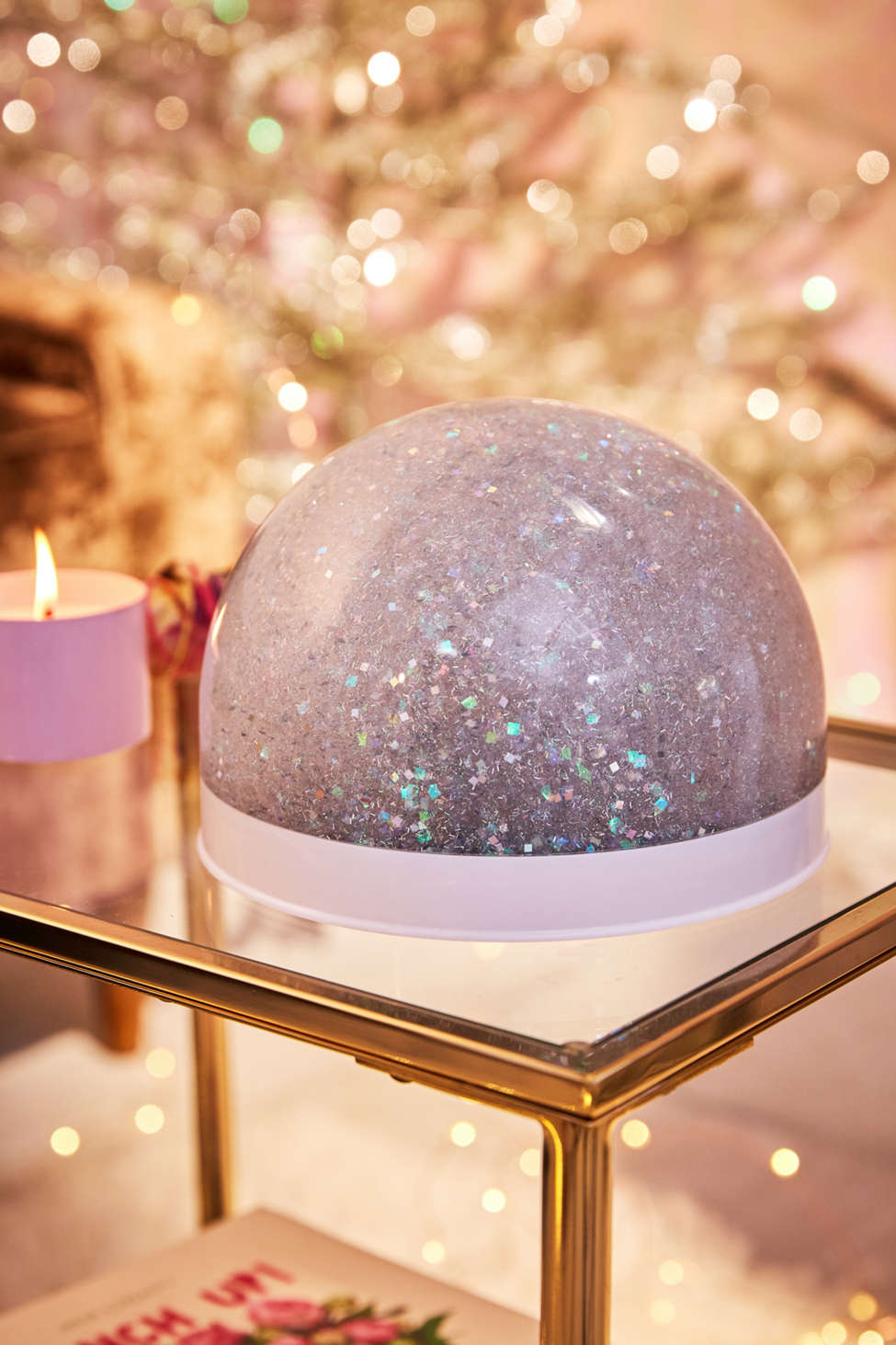 Giant Glitter Snow Globe Urban Outfitters