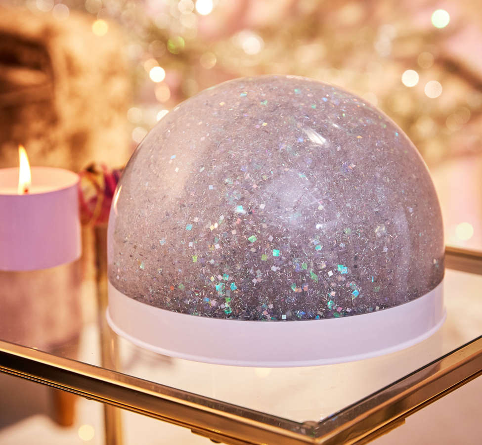 Slide View: 1: Giant Glitter Snow Globe