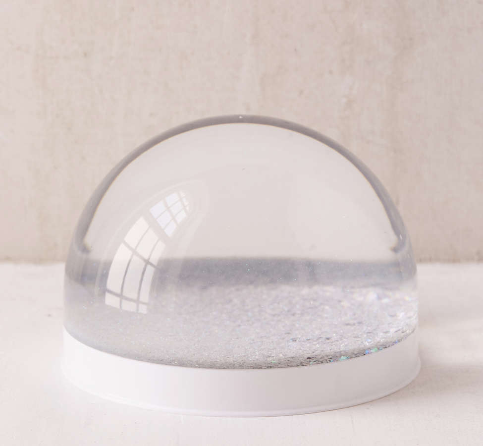 Slide View: 2: Giant Glitter Snow Globe