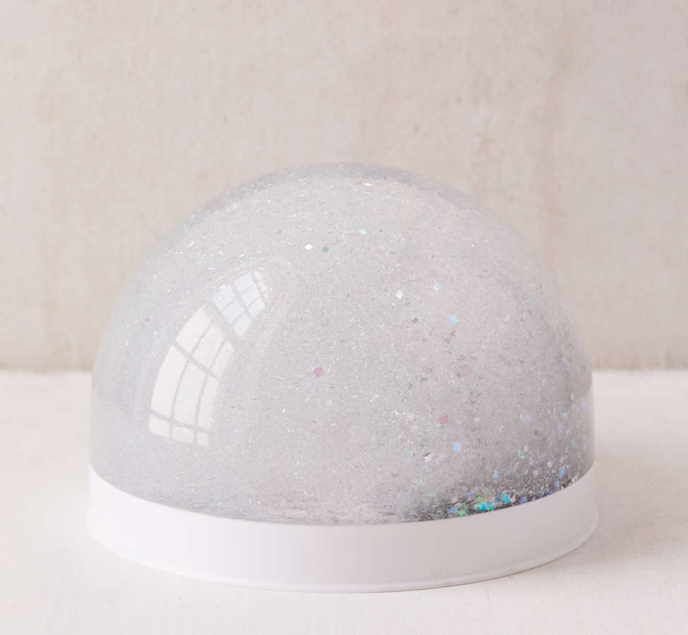 Slide View: 3: Giant Glitter Snow Globe