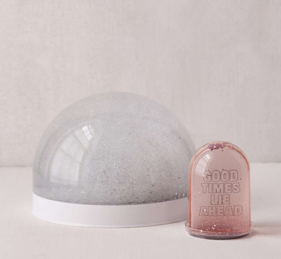 Slide View: 5: Giant Glitter Snow Globe