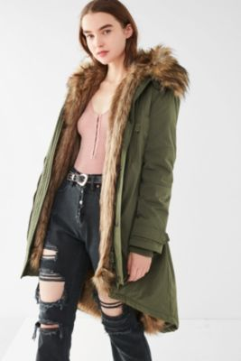Women's Faux Fur Coats | Urban Outfitters