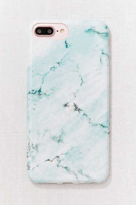 Mint Marble iPhone 8/7/6/6s Plus Case