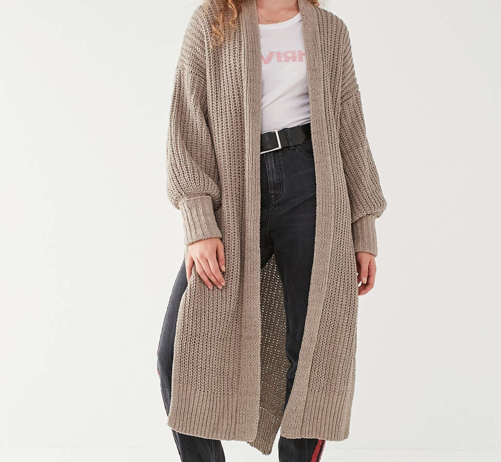 Slide View: 4: UO Paige Maxi Cardigan
