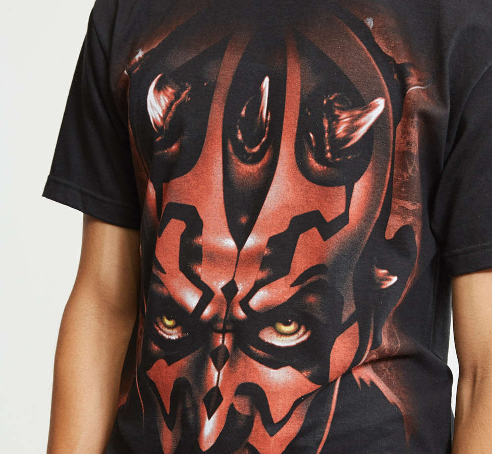 Slide View: 5: T-shirt Darth Maul Star Wars
