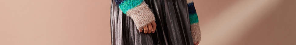 Thumbnail View 3: UO Fuzzy Glitter Striped Sweater
