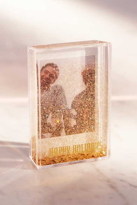 Mini Instax Happy Holidays Glitter Picture Frame