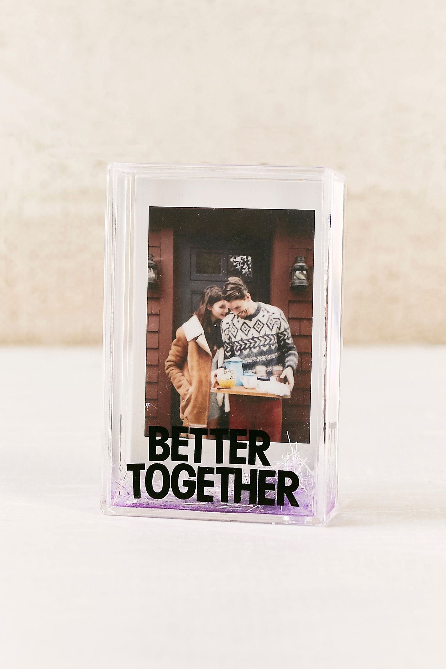 Mini instax better together glitter picture frame urban outfitters slide view 2 mini instax better together glitter picture frame jeuxipadfo Images