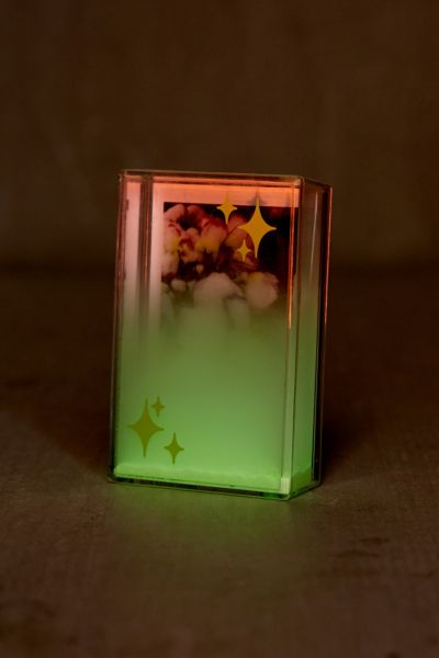 Mini Instax Glow Stars Glitter Picture Frame - Green One Size at Urban Outfitters