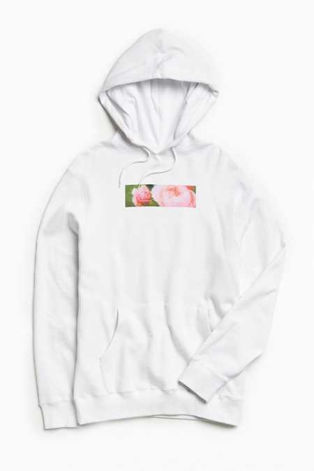 X-Large Flower Cart Hoodie Sweatshirt