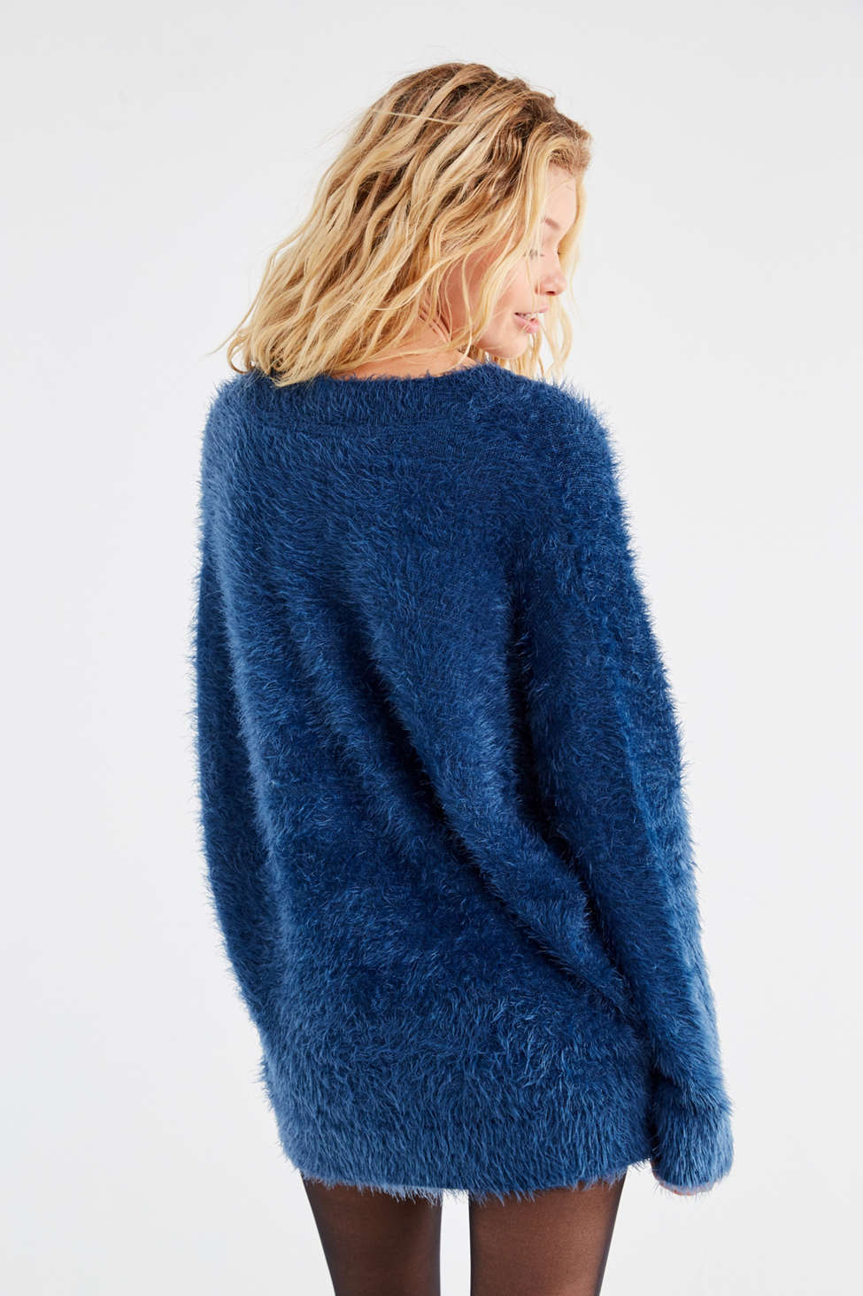 UO Oversized Fuzzy Sweater | Urban Outfitters