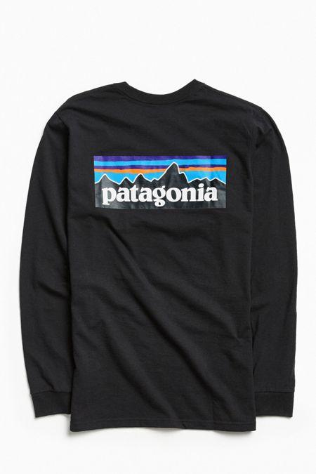 Patagonia P6 Logo Long Sleeve Tee