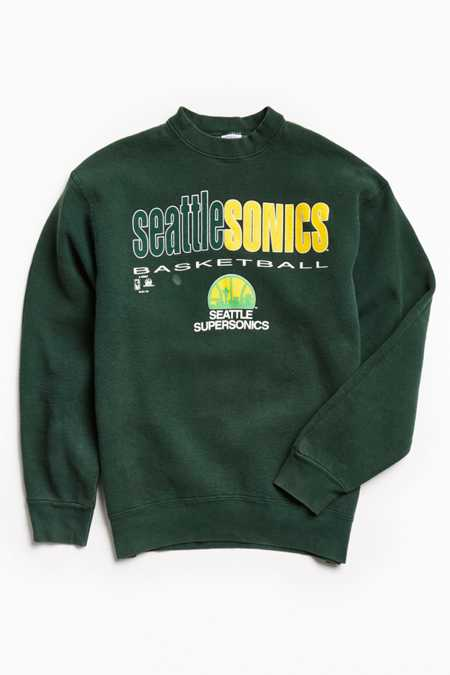 Vintage NBA Seattle SuperSonics Crew Neck Sweatshirt