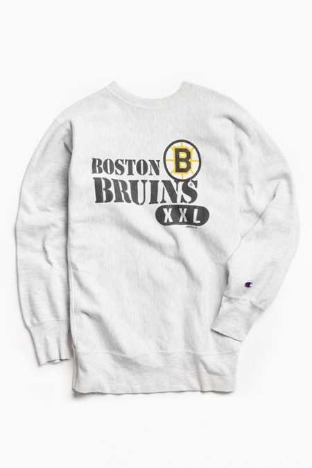 Vintage NHL Boston Bruins Crew Neck Sweatshirt