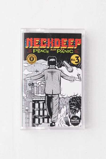 Neck Deep - The Peace And The Panic Limited Cassette Tape
