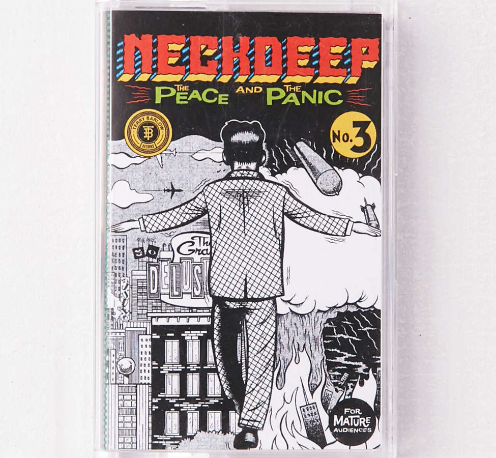 Slide View: 1: Neck Deep - The Peace And The Panic Limited Cassette Tape