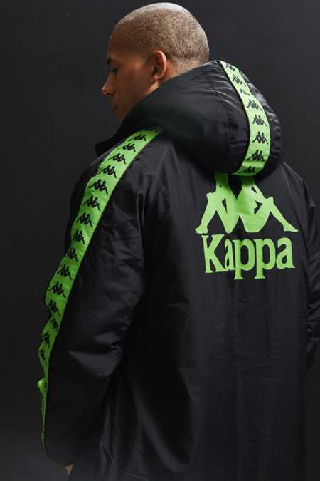 Kappa X UO Hooded Parka Jacket