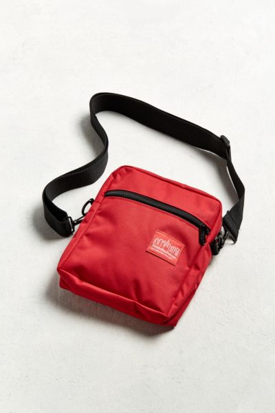 Manhattan Portage Moondance Mini Messenger Bag - Red One Size at Urban Outfitters