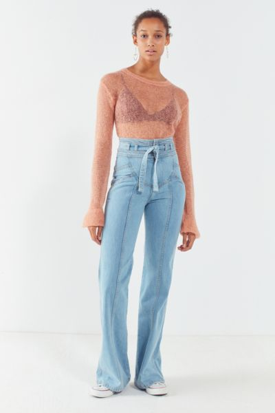 Stoned Immaculate Waiting On The Sun Jean - Light Blue 24 at Urban Outfitters