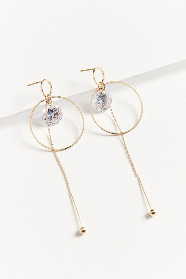 Crystal Statement Drop Earring | Urban Outfitters