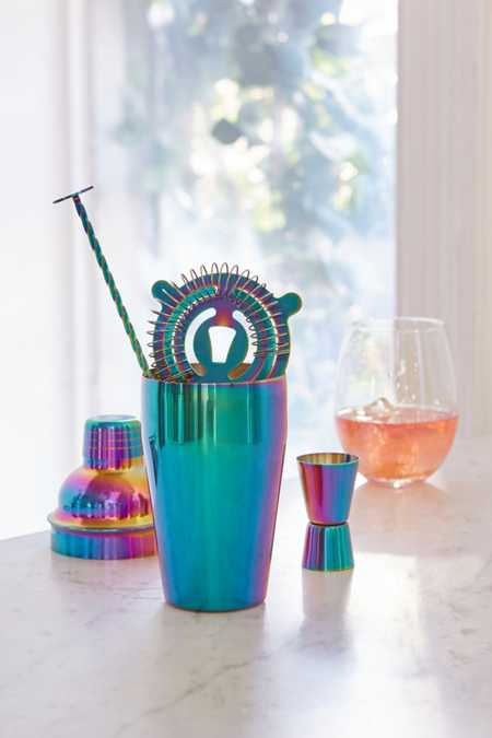 Oil Slick Bar Cocktail Shaker Set