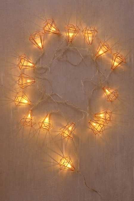 Diamond String Lights