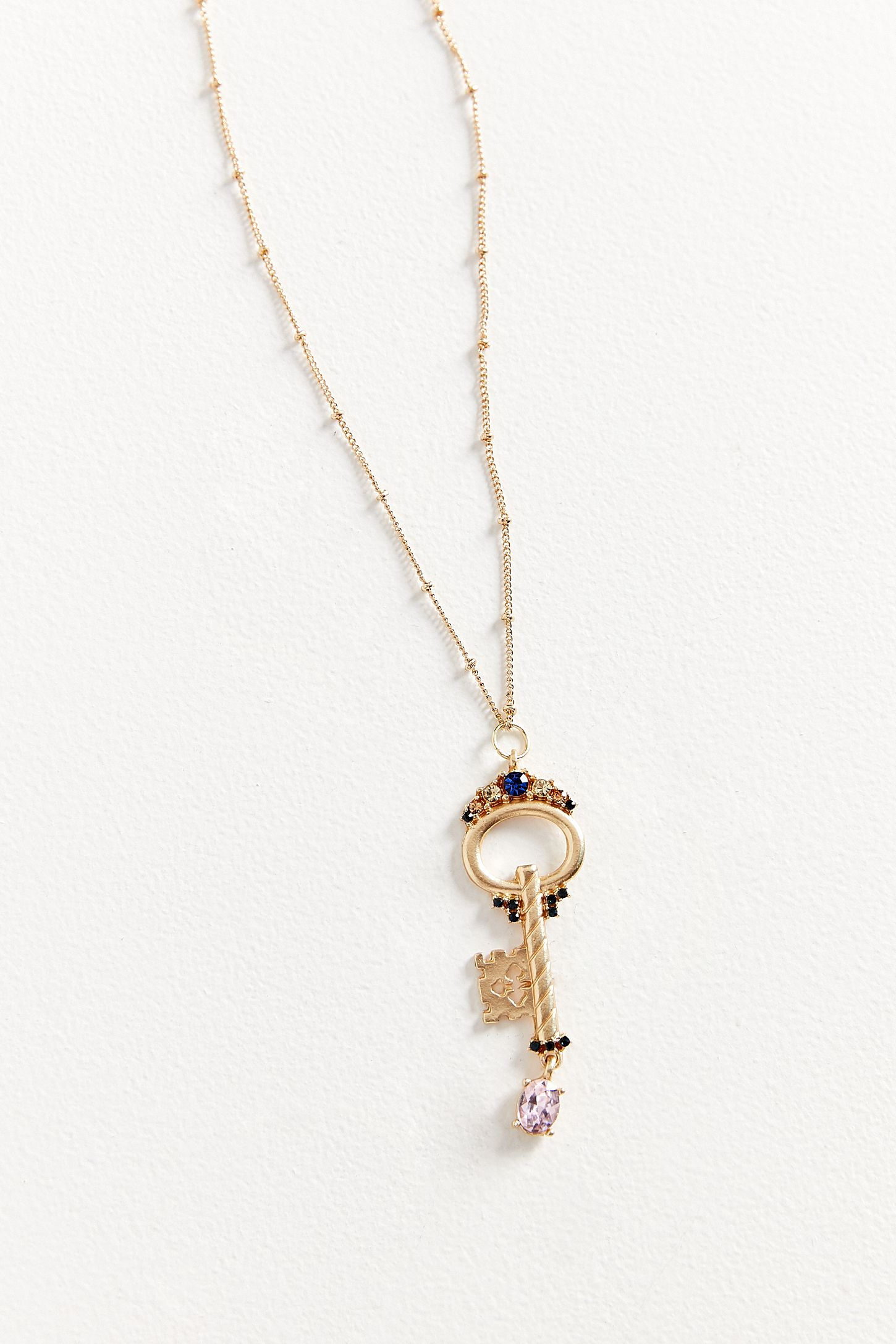ZHUU Key Pendant Necklace | Urban Outfitters
