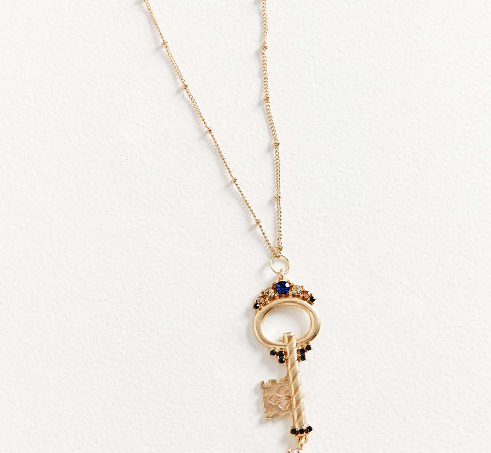 Slide View: 2: ZHUU Key Pendant Necklace