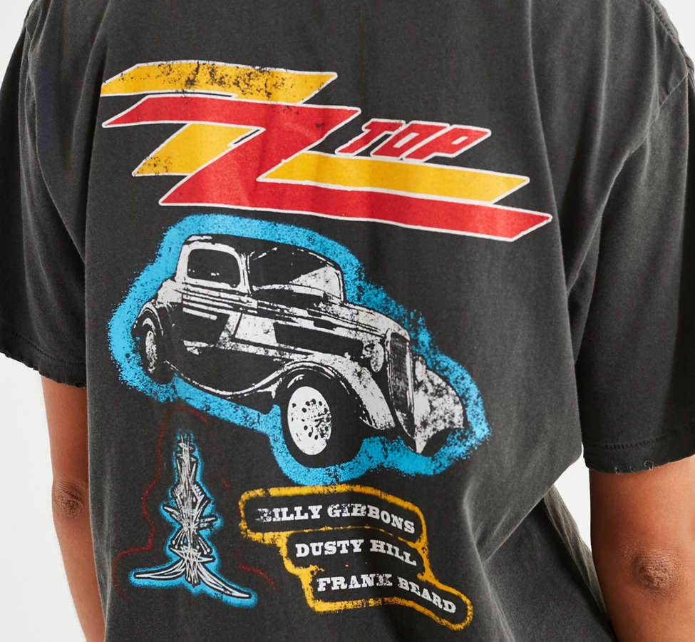 Slide View: 4: Midnight Rider ZZ Top Tee