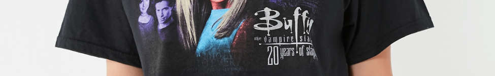 Thumbnail View 2: Buffy The Vampire Slayer Cropped Tee