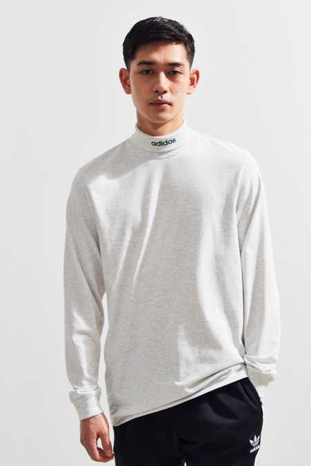 adidas Skateboarding Mock Neck Long Sleeve Tee